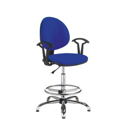 висок работен стол Smart-gtp-27-steel-RB