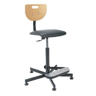 висок работен стол Werek Plus Foot Base