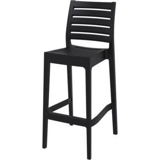 бар стол Арес черен