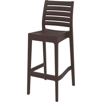 бар стол Арес кафяв