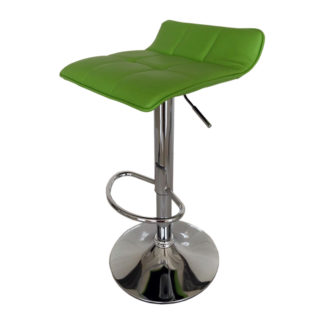 Бар стол Калипсо 5 зелена еко кожа