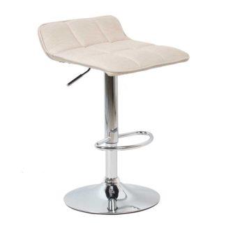 бар стол Калипсо 5 бежов текстил