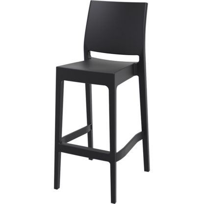 бар стол Мая черен