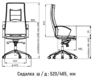 размери стол KIng