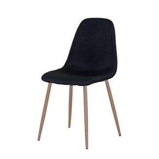 стол AM-A293B черен текстил