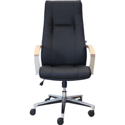 Офис стол King черна еко кожа