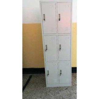 метален гардероб с шест врати