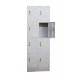 метален гардероб с осем врати