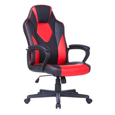 Геймърски стол Storm червено-черен
