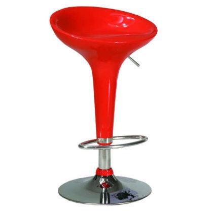 Бар стол 3052 червен