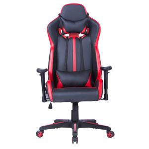 Геймърски стол Escape черно-червен