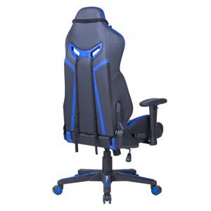 Геймърски стол Escape черно-син
