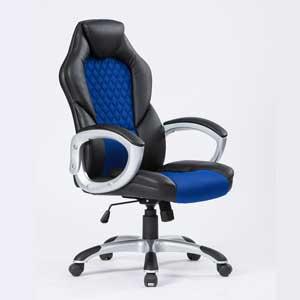 Геймърски стол Viking черно-син