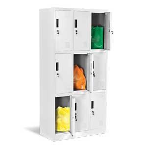 Метален шкаф с 9 врати CR-1244-J