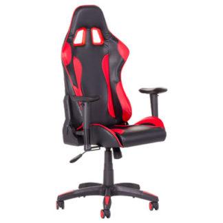 Офис стол 7516 червено-черен