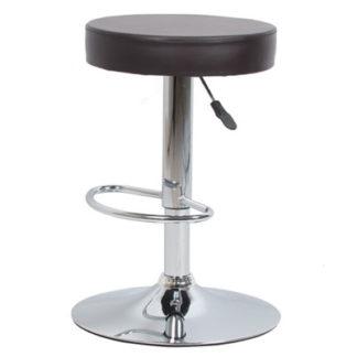 Бар стол Калипсо 3 кафяв еко кожа