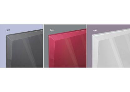Цветове МДФ Гланц - грей, бери или пърл за вратички за модулни кухненски шкафове МДФ Гланц