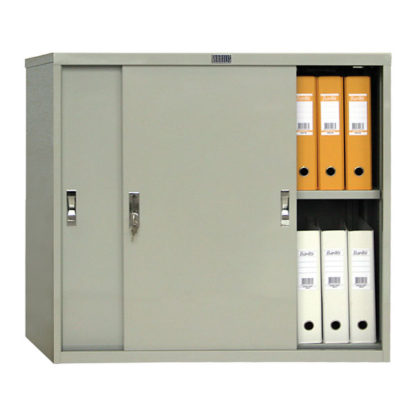 Метален шкаф с плъзгащи се врати АМТ 0891 висок 83.2см