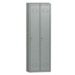 метален гардероб с две врати LS-21