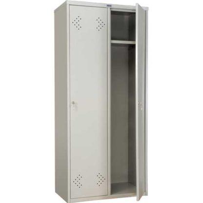 метален гардероб с две врати LS-21-80