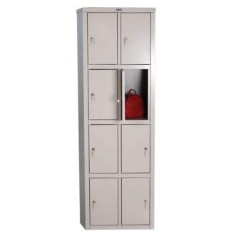 метален гардероб с осем врати LS-24