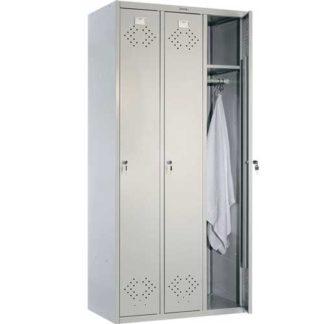 метален гардероб с три врати LS-31