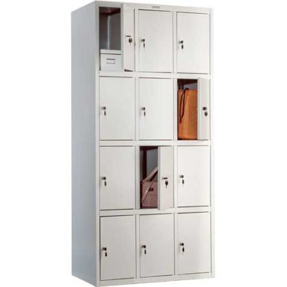 Метален шкаф с 12 врати LS-34