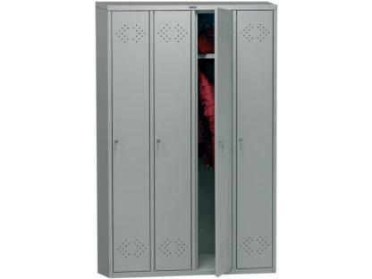 метален гардероб с четири врати LS-41