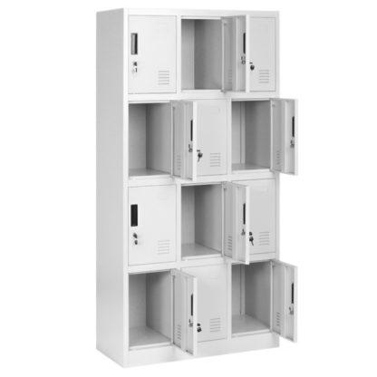 Метален шкаф с дванадесет врати CR-1258-J