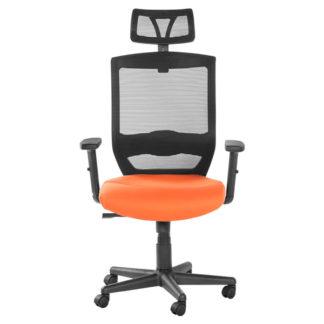 Офис стол 7518 оранжев