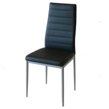 Трапезен стол АМ-С170 черна еко кожа