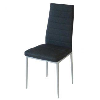 Трапезен стол АМ-С170В черен текстил