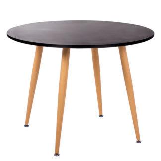 Трапезна маса Sabina - черна
