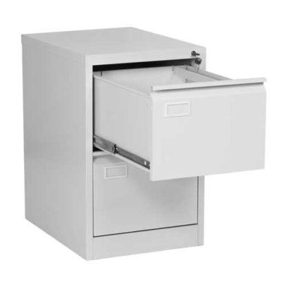 Метален кардекс CR-1230 L с две чекмеджета