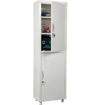 Медицински шкаф МД 1 1650 SS