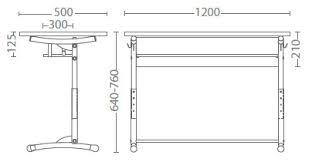 размер бюро Е-172 а