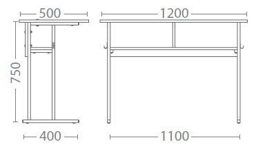 Размер ученическо бюро Е-162