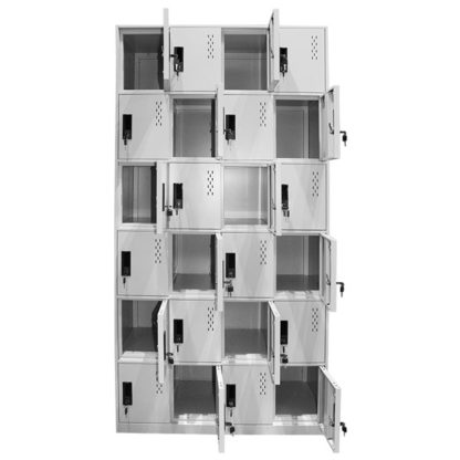 метален шкаф с 24 врати CR-1277-J